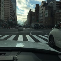 Photo taken at 勝どき駅前交差点 by 十兵衛 on 2/7/2016