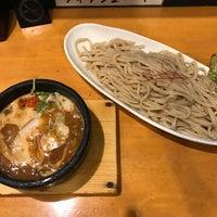 Photo taken at つけ麺 まぜ郎 ぎんや 砂田橋店 by Kazuhiro K. on 6/13/2017