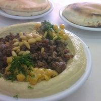 Photo taken at Suhila Hummus by Allon A. on 6/2/2013