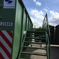 Photo taken at Containerpark moerkerke by Soetkin . on 5/30/2015