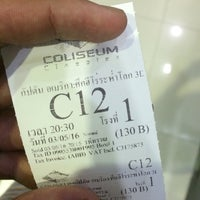 Photo taken at Coliseum Paradise Cineplex Phuket by Sunji P. on 5/3/2016