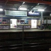 Photo taken at Stasiun Tanah Abang by atjan on 3/25/2013