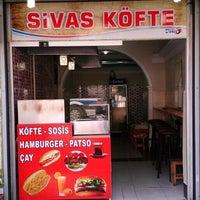 Photo taken at Sivas Köfte by Deniz Cafe by Erhan G. on 6/21/2014