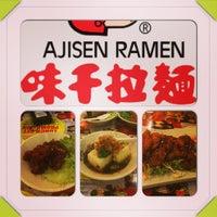Photo taken at Ajisen Ramen by Ashley G. on 2/19/2013