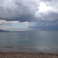 Photo taken at Kalamaki Beach Hotel Beach by ❤ Nancy A. on 9/7/2014