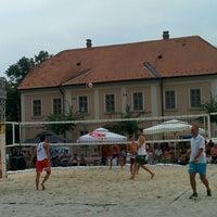 Photo taken at Trg svetog Trojstva by Kristina on 8/16/2015