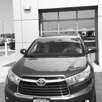 Photo taken at Luther Brookdale Toyota by Iurie G. on 8/26/2015