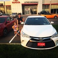 Photo taken at Luther Brookdale Toyota by Iurie G. on 8/29/2015