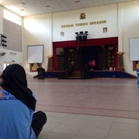 Photo taken at Dewan Tunku Ibrahim by marsya f. on 12/15/2015