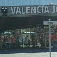 Foto tomada en Estación de Valencia Joaquín Sorolla - AVE por Juan F. el 1/21/2013