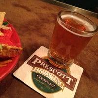 Photo taken at Prescott Brewing Company by Kim J. on 4/18/2013