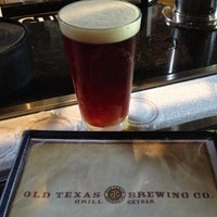 Photo taken at Old Texas Brewing Co. by Kim J. on 6/8/2013