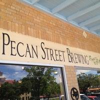 Photo taken at Pecan Street Brewing Co. by Kim J. on 5/4/2013