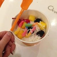 Photo taken at Orange Leaf by 🎀Chelsea J. on 12/30/2012