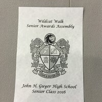 Photo taken at Guyer High School by Kristine H. on 5/13/2016