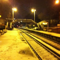 Photo taken at Rice Lane Railway Station (RIL) by Andy T. on 1/21/2013