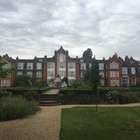 Photo taken at Newnham College by Pauline D. on 7/18/2017