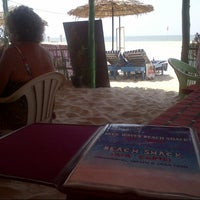 Photo taken at Blue Waves Beach Shack by Viks on 3/2/2013