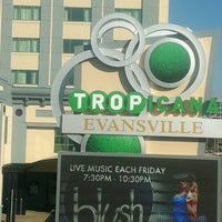 Photo taken at Tropicana Evansville (Casino Aztar) by Paul F. on 8/25/2013