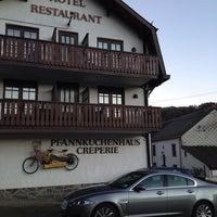 Photo taken at Hotel Restaurent Oberhausen by Arnoud W. on 12/29/2013