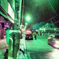 Photo taken at Cruce Av. General Paz y Av. Lope de Vega by Alejandro O. on 11/5/2014