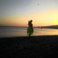 Photo taken at Sarıkız Sahil Plajı by Buket💎 Ş. on 8/17/2017
