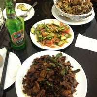 Photo taken at Yum Yum Dumplings by Cris P. on 4/22/2013