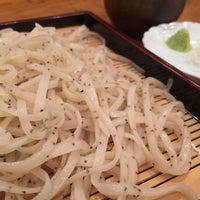 Photo taken at 駒形蕎上人 by Parikkuma on 11/15/2016