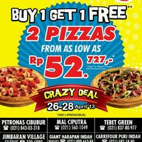Photo taken at Domino's Pizza by Domino's Pizza I. on 4/26/2013