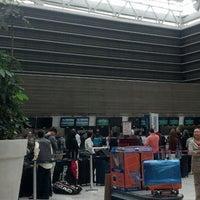 Photo taken at International Departures by Adal c. on 7/7/2013