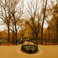 Photo taken at NYU Paulette Goddard Residence Hall by Jordan C. on 4/21/2013