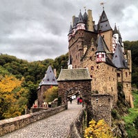 Photo taken at Burg Eltz by Robert U. on 10/12/2012
