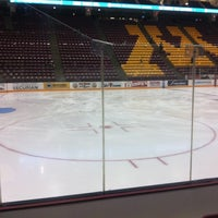 Photo taken at Mariucci Arena by Cullen D. on 10/6/2012