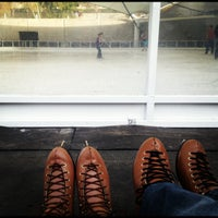 Photo taken at Crown Center Ice Terrace by Caroline W. on 11/4/2012