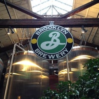 Photo taken at Brooklyn Brewery by Caroline W. on 11/10/2012