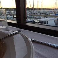 Photo taken at The Marina Restaurant by Andrew G. on 7/30/2014