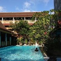 Photo taken at Hotel Pakumas by Ririe P. on 3/10/2013