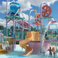 Photo taken at Red Oaks Waterpark by Jennie L. on 8/3/2013