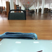 Photo taken at National Library by Zhibek A. on 10/31/2015