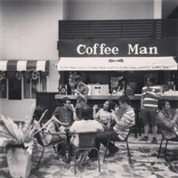 Photo taken at Coffee Man by Bank L. on 3/25/2013