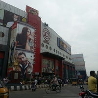 Photo taken at Hyderabad Central by Kalesh S. on 11/22/2013