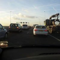 Photo taken at A9 (Hoofddorp-West) by Astrid d. on 10/2/2012