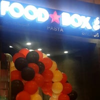 Photo taken at Food Box Co. by Lama H. on 9/12/2013