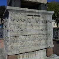 Photo taken at The Obelisk of Theodosius I by Mehmet G. on 10/14/2012