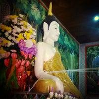 Photo taken at วัดสันต้นม่วงใต้ (อัมพวัน) by Songkran S. on 10/10/2013