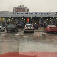 Photo taken at TÜVTÜRK Araç Muayene İstasyonu by Osman U. on 1/16/2018
