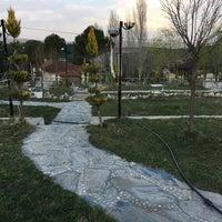 Photo taken at Menteşe Çay Bahçesi by Halil Ibrahim Ö. on 3/27/2017