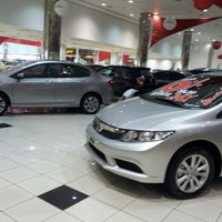 Photo taken at Honda Andre Ribeiro by Wercy M. on 7/27/2013