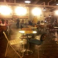 Photo taken at CAFÉ AMOKKA by you kyung L. on 9/27/2012
