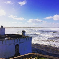 Photo taken at Enniscrone Beach by Jennifer M. on 2/17/2016